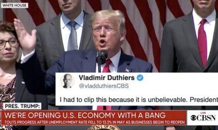 INSÓLITO: Dice Trump Que el Hombre Asesinado Debe Estar Satisfecho Mirando Desde el Cielo lo Que Está Pasando