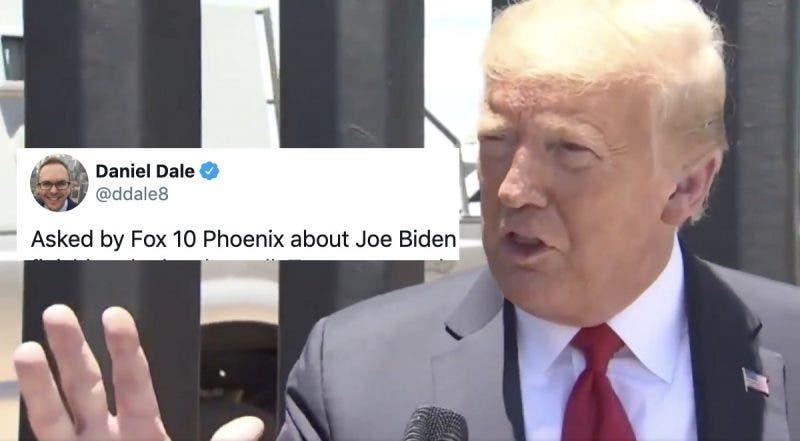 """¿Reconoció Que va a Perder? Trump Predice una """"Revolución"""" si Biden no Termina su Muro Fronterizo"""