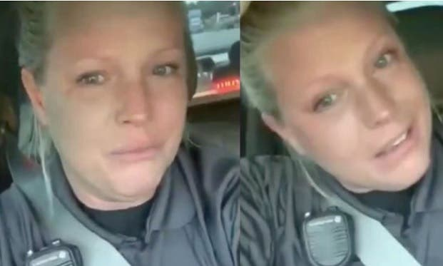 Esta Oficial de Policía Publicó un Video Lleno de Enojo e Ira Por la Más Banal de las Razones. Y Clama Derechos