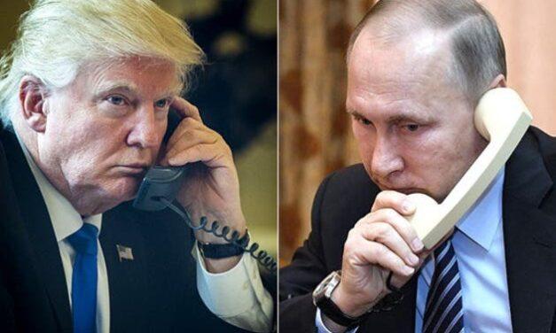 Trump y Putin: Reporteros Descubren que han Estado Realizando Varias Llamadas Previamente no Reveladas