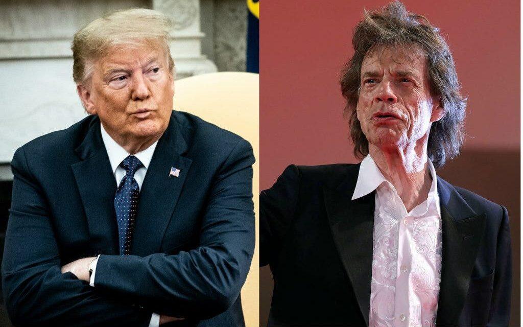 Rolling Stones Listos Para Demandar a Trump. Y Nosotros Encontramos la Canción de Ellos Que le Pega a Él