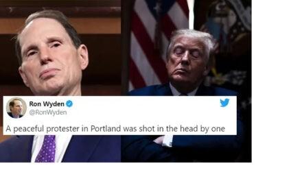 """Este Senador Acusó a Trump de Usar su """"Policía Secreta"""" para Atacar a los Manifestantes. Todo Por un Truco Mediático"""