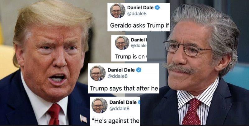 """""""Ya Nadie se Preocupa Sobre mi Poder Mental"""", afirma Donald en una Nueva Entrevista Desastrosa"""