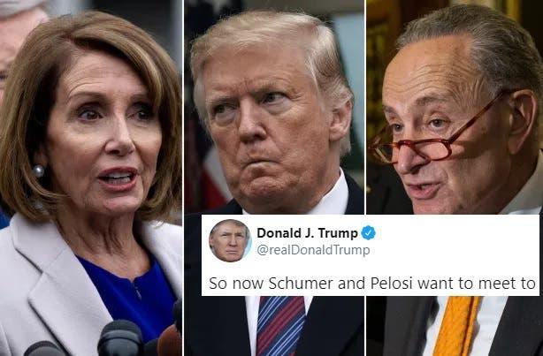 """""""Fábulas de Trump. Nosotros no le Llamamos"""" Desmienten los Líderes Demócratas al Presidente"""