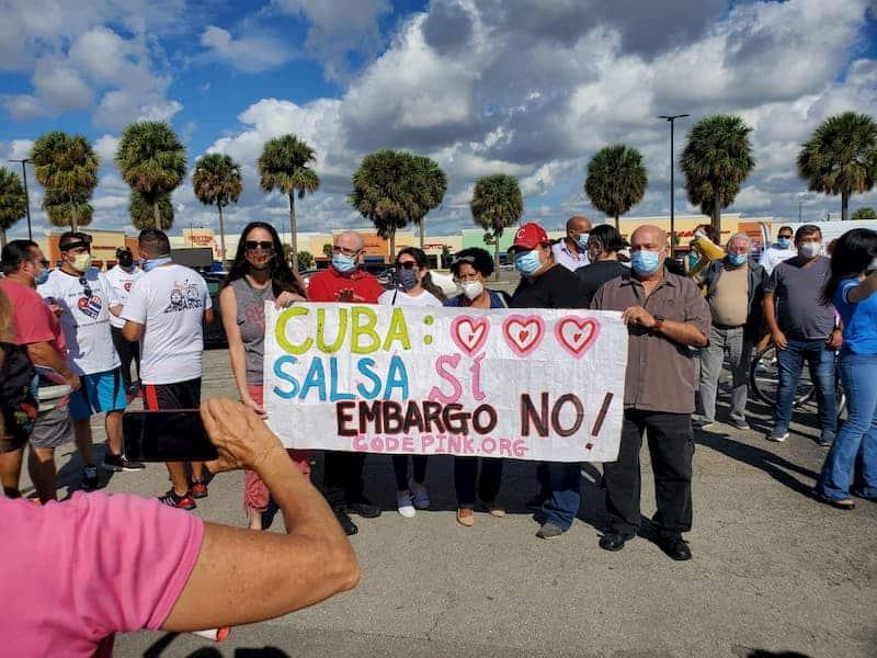 ¿Es Segura la Caravana del Domingo 27 de Junio en Miami por el Levantamiento del Bloqueo?
