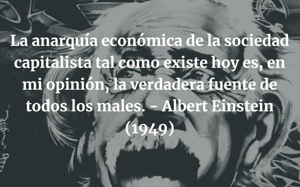 ¿Por Qué Socialismo? El Legado de Albert Einstein en la Teoría Económico-Social