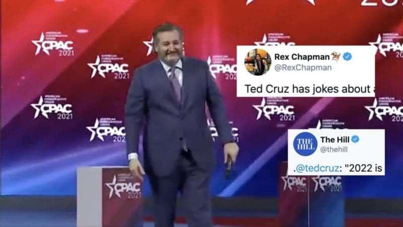 Mientras Aspira a Ser Presidente, Ted Cruz se Llena Cada Vez Más de Vergüenza y Humillación