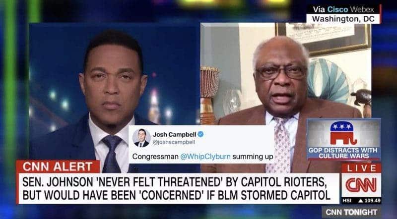 Su Racismo se Volvió Viral. Increíble Después de lo Que Todos Vimos del Asalto al Capitolio