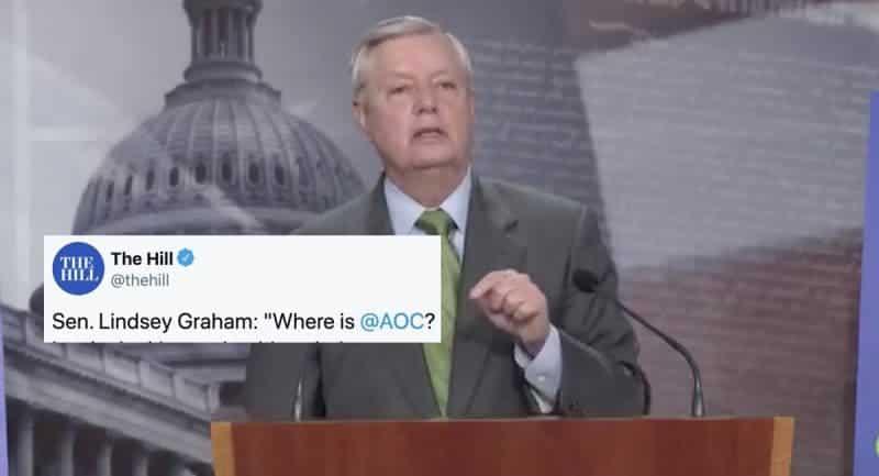 Graham Vs AOC: Por si Aún no Sabías Que Los Inmigrantes no Son Personas Para los Republicanos