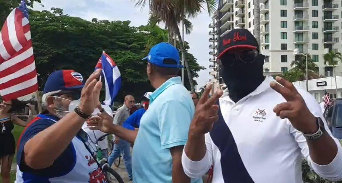 Miami Vuelve a Debatirse Entre la Desverguenza y la Gloria, Entre la Ignonimia y el Amor a la Patria