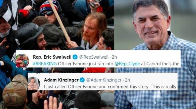 Congresista Republicano Insulta Públicamente a Héroe Policial Herido el 6 de Enero en la Cara