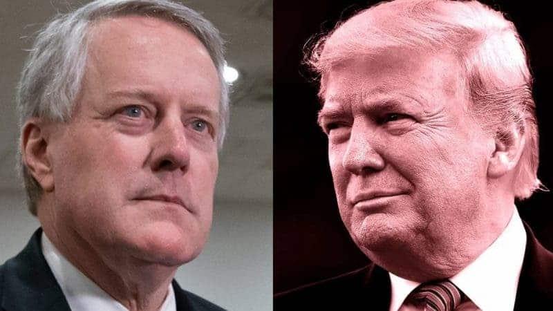 Desvaríos Por Docenas: ex jefe de Gabinete de Trump lo Llama «Presidente» y Habla de Reuniones con «su» Gabinete