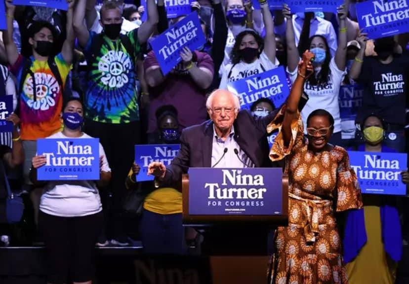 Otra Vez, los Mismos Que Truncaron la Carrera de Bernie Sanders Pretenden Parar a Nina Turner