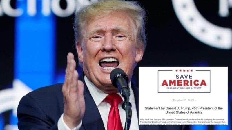 Trump Intenta Encubrir su Gran Mentira Inventando una Historia sobre la «Realmente Gran Mentira»