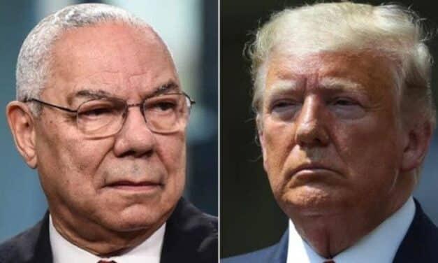 Trump Celebra la Muerte del General Powell Con un Ataque Profundamente Insultante y Mezquino